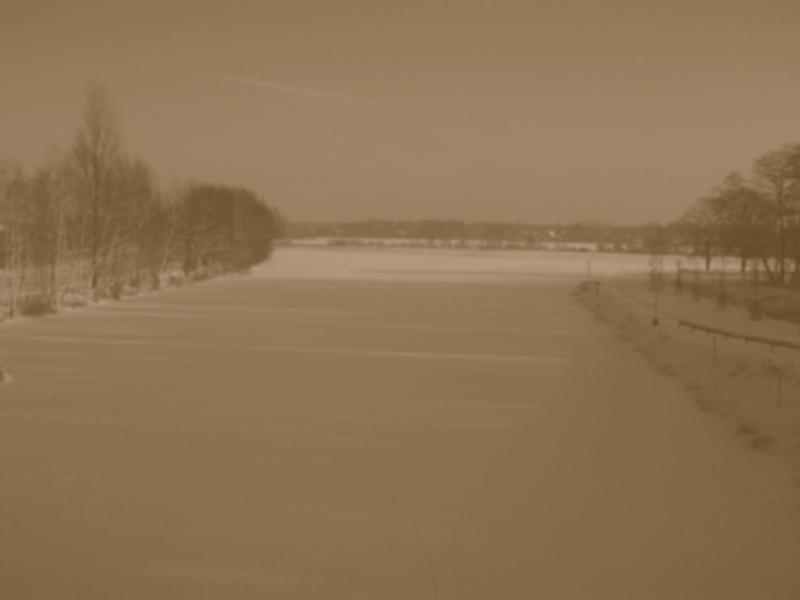 Zugefrorene Havel 18. Dezember 2010
